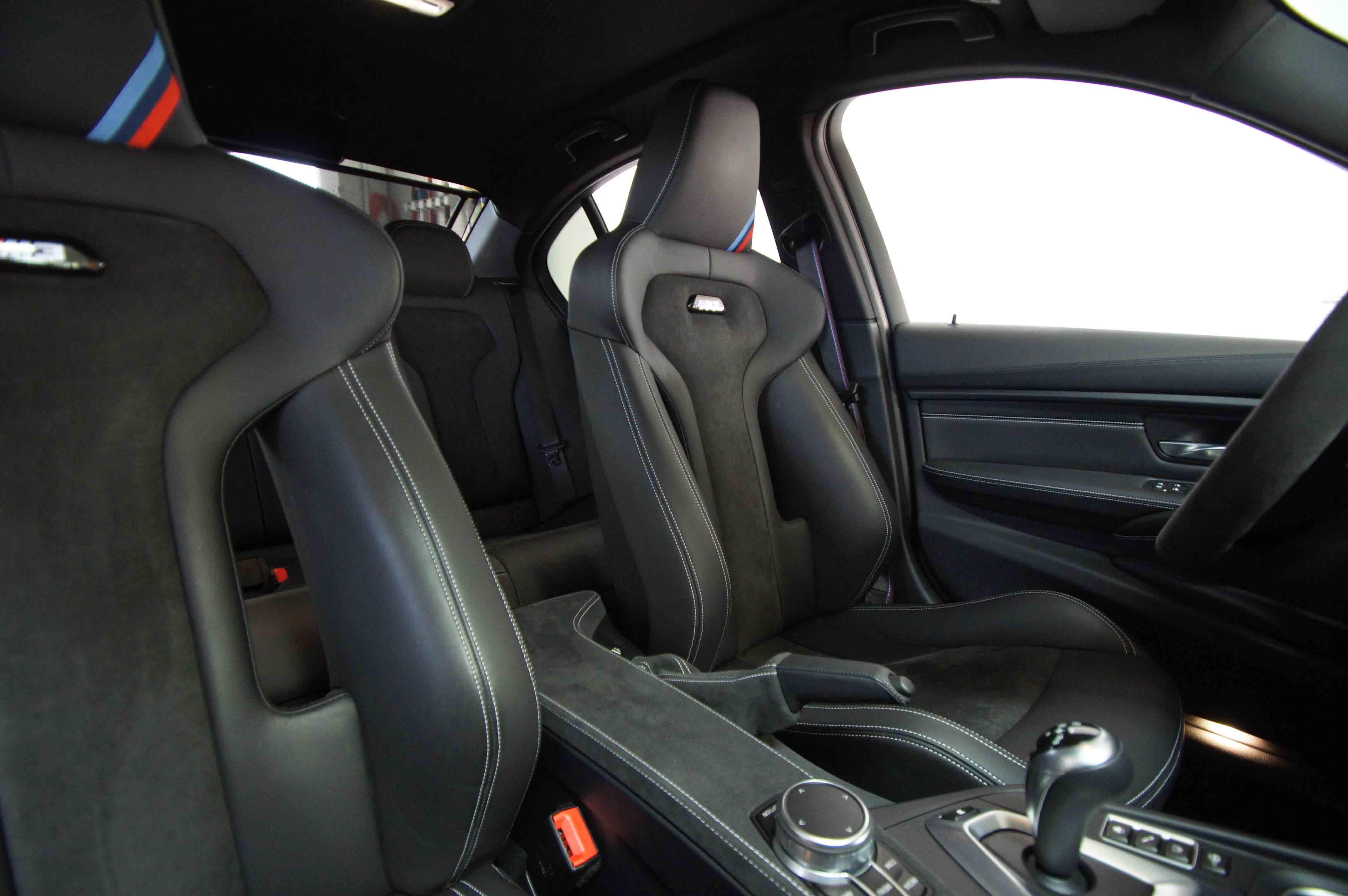 BMW M3 CS Innenausstattung Echtleder und Alcantara