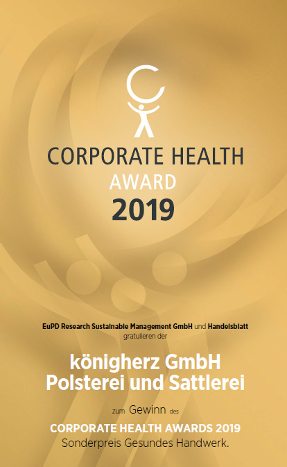 Corporate Health Award 2019